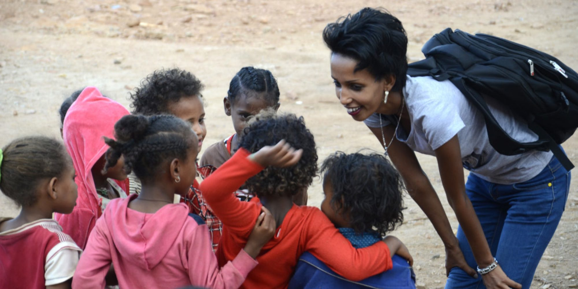 Hiwot Ali coordinates the JRS counselling department and community outreach in Mai Aini refugee camp, northern Ethiopia.